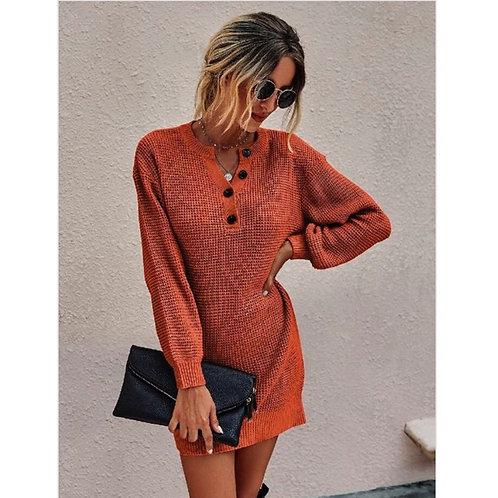 Rustic Sweater Dress