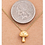 Thumbnail: 18K Gold Plated Mushroom Necklace