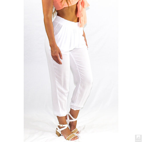 Cloudless Smocked Waist Joggers