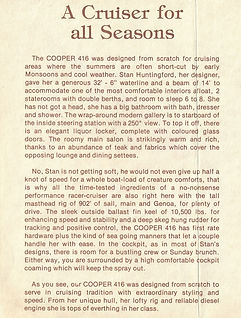 Cooper 416 Sales Description