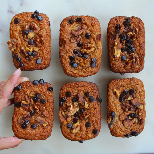 Banana Bread Mini Loaves