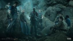 Halo Nightfall - Iceland - Characters