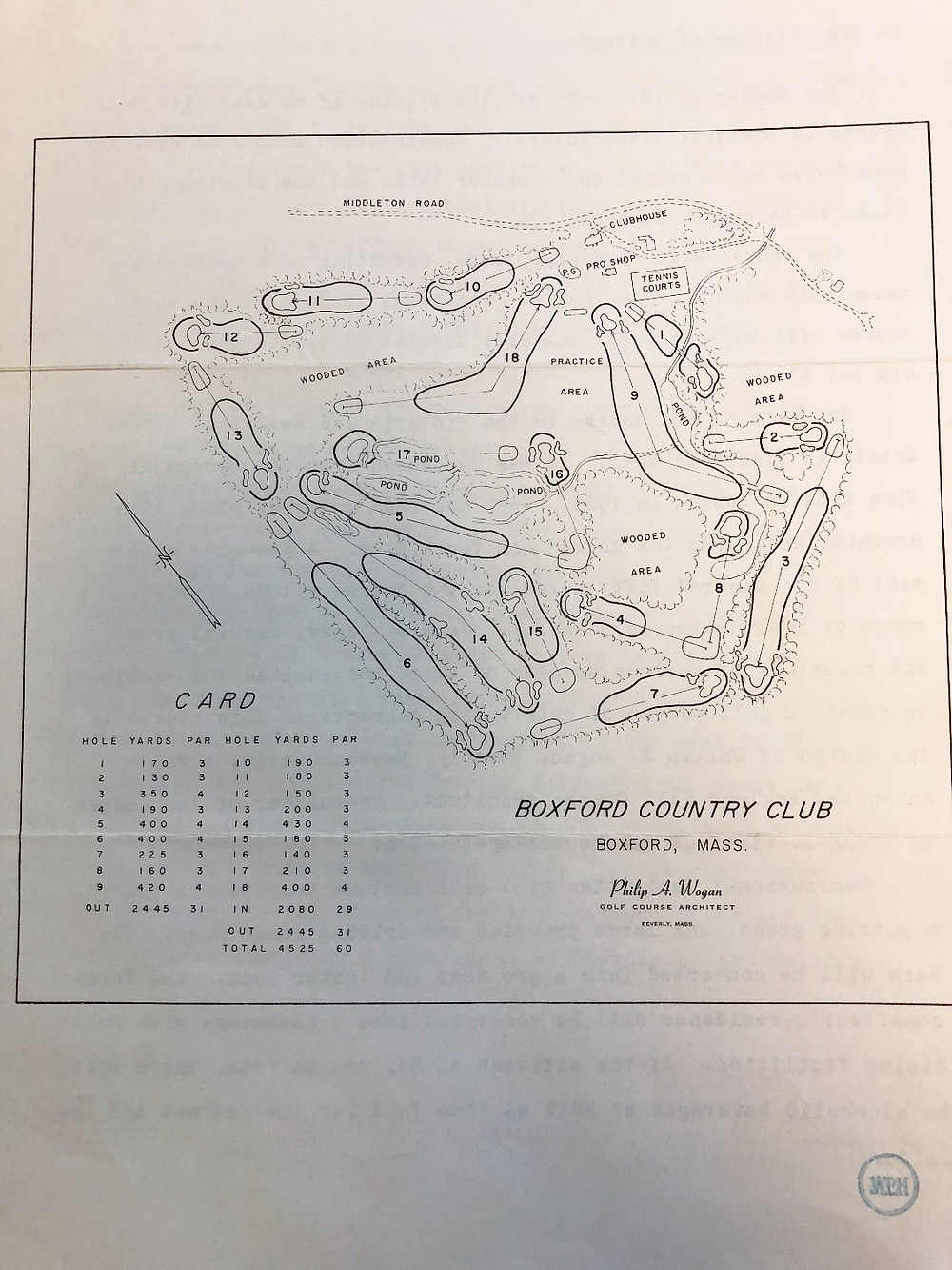 Boxford Country Club Brochure