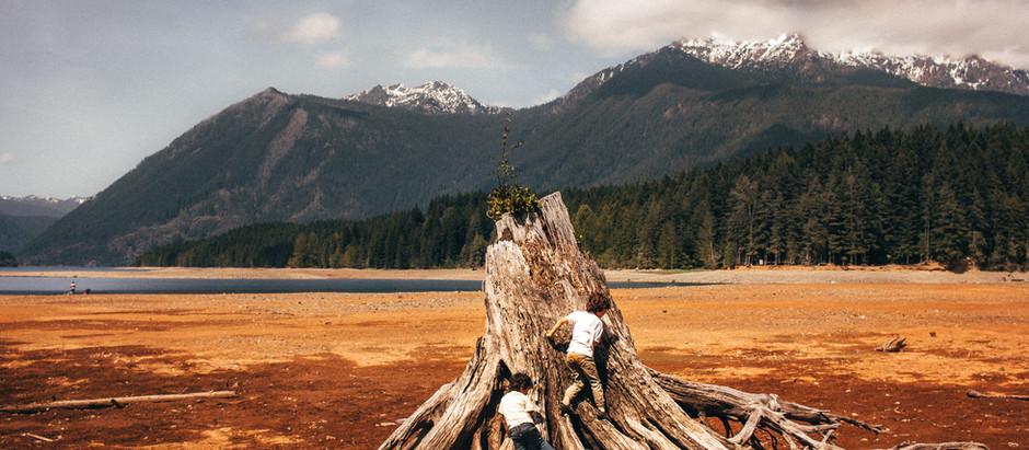 Weekend Roadtrips-Unschooling Adventures-Lake Cushman