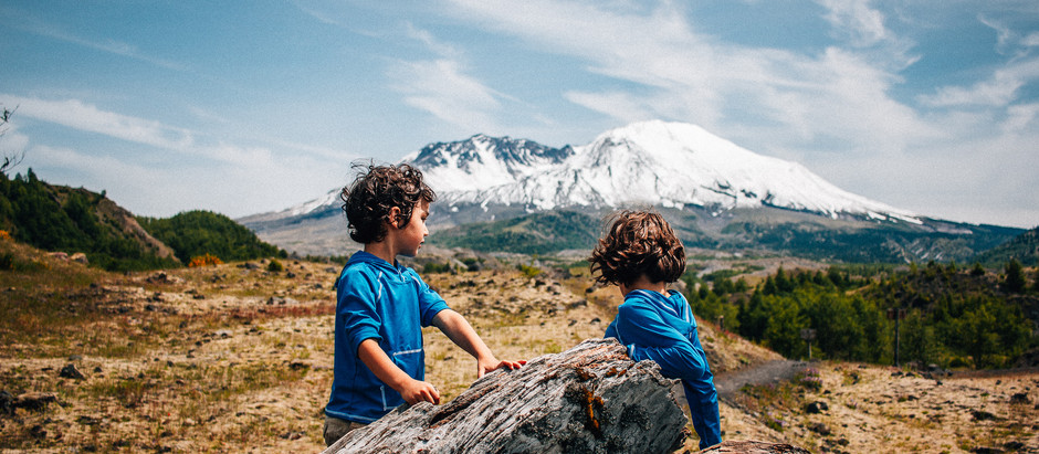 Caterpillars, Volcanoes and Sunscreen; How we Protect the Kid's skin while Hiking.