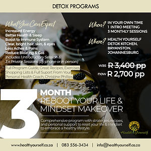 Reboot Your Life & Mindset Makeover