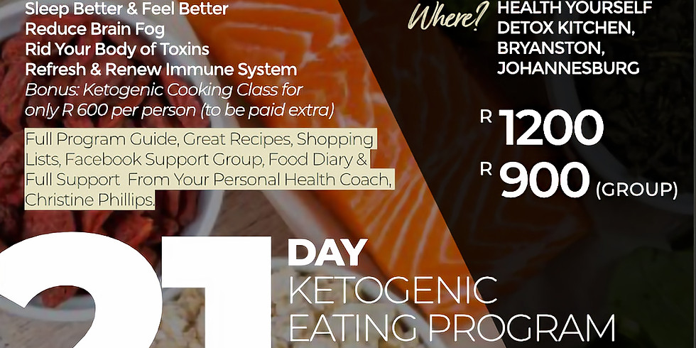 "21-Day ""Ketogenic"" Eating Plan"