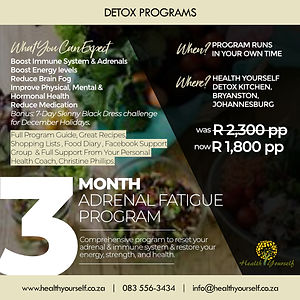 Adrenal Fatigue Program