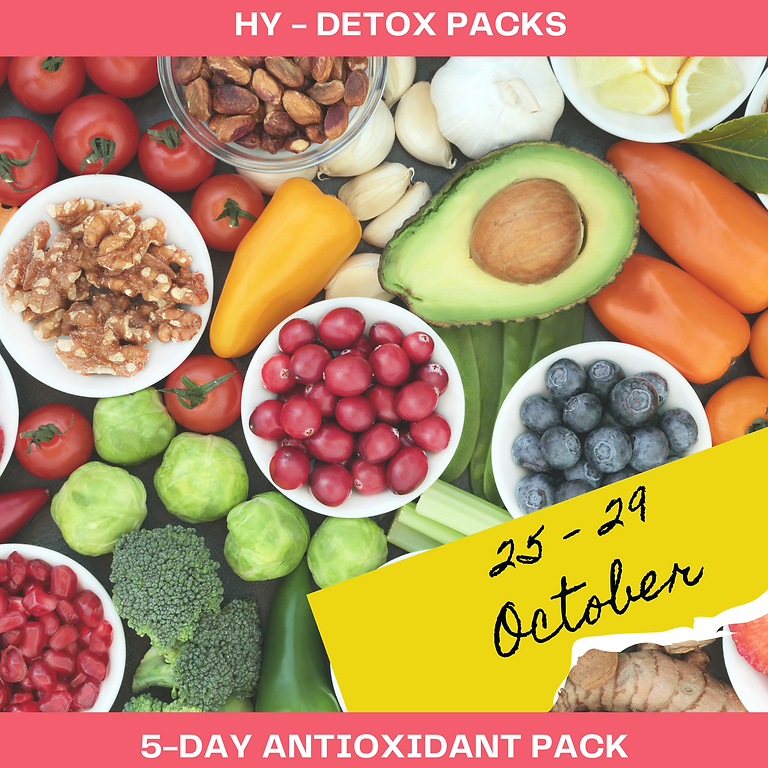 5 DAY ANTIOXIDANT PACK