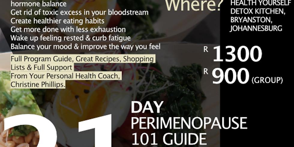 """21-Day """"Perimenopause 101"""" Guide"""