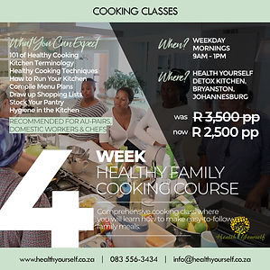 Healthy Family Cooking Course