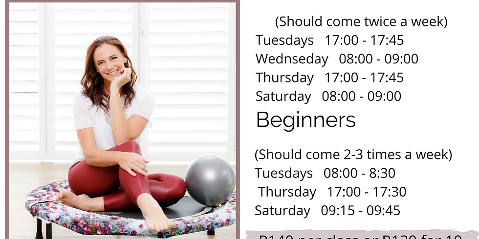 REBOUND CLASSES FOR MAY