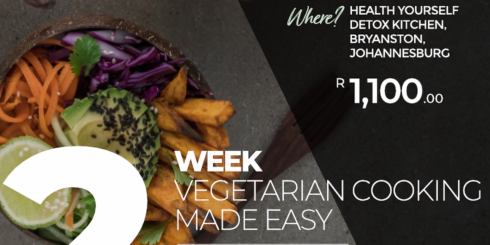 "2-Week ""Vegetarian Cooking Made Easy"" FULLY BOOKED"