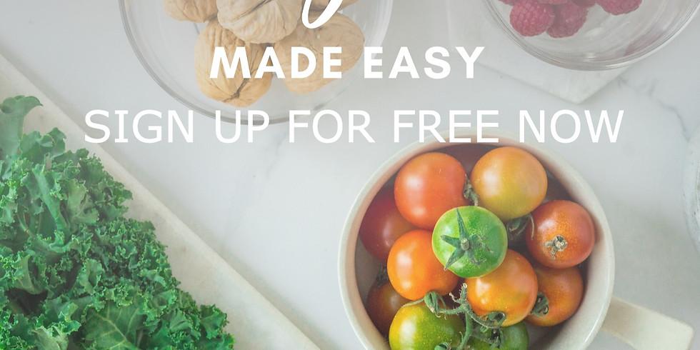 FREE 7 Day Vegan made easy Plan
