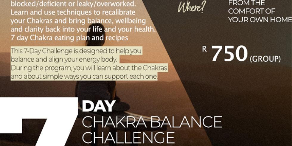 """7-Day """"Chakra Balance"""" Challenge"""