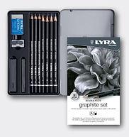 סט עפרונות גרפיט
