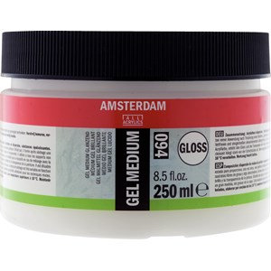 """ג'ל מדיום מבריק אמסטרדם 250מ""""ל"""