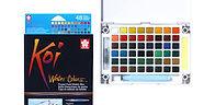 סט צבעי מים 12 כפתורים של KOI