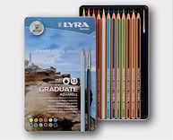סט עפרונות גרדיואט אקוורל