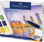 צבע מים פאבר קאסטל סטודיו 24