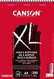 Canson XL Huile & Acrylique | צבעי שמן ומים