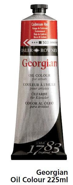"""צבע שמן ג'אורג'יאן 225 מ""""ל אדומים-מג'נטה"""