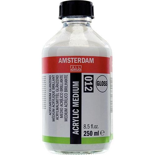 """מדיום אקריליק מבריק אמסטרדם 250 מ""""ל"""