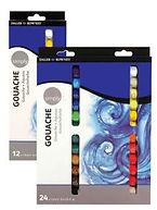 Simply Gouache Sets  סט סימפלי צבעי גואש