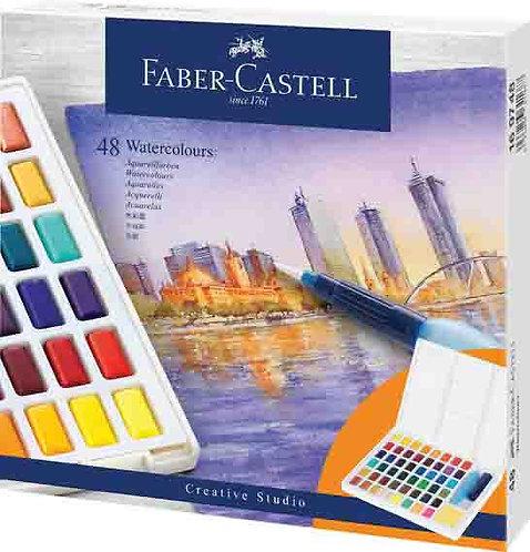 צבע מים פאבר קאסטל סטודיו 48