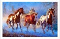 צביעה לפי מספר - סוסים