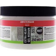"""ג'ל מדיום מט סמיך מאוד אמסטרדם 250מ""""ל"""