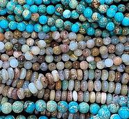 חרוזי אבן טבעית