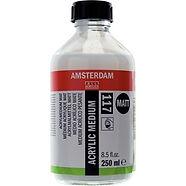 """מדיום אקריליק מט אמסטרדם 250 מ""""ל"""