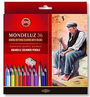 עפרון אקוורל MONDELUZ קוהינור סט 1/36