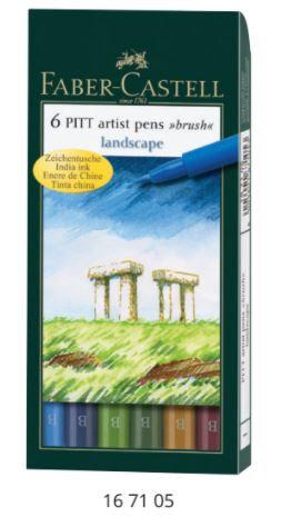 Pitt Artist Pen Brush -Landscape