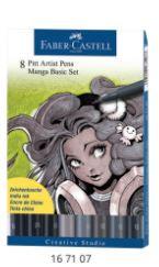 Pitt Artist Pen Brush Manga - Manga Basic