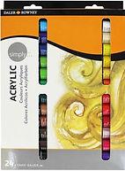 סט צבע אקריליק 1/24 12מל בשפופרת דאלר ראוני