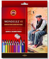 עפרון אקוורל MONDELUZ קוהינור סט 1/48