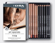 סט עפרונות רישום