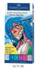 Pitt Artist Pen Brush Manga - Manga Shôjo
