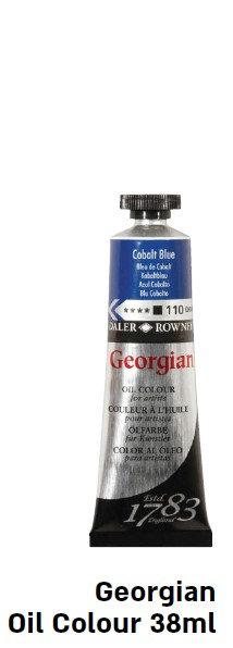 """צבע שמן ג'אורג'יאן 38 מ""""ל חומים וצבע גוף"""