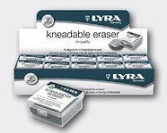 מחק פחם kneadable eraser