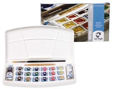 צבע מים כפתורים טלנס סט 20