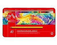 עפרונות אקוורל 1/40 קארנדאש