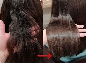 スキを入れすぎてクセ毛がひどくなってしまった髪の毛😵💧_クセの種類により今と