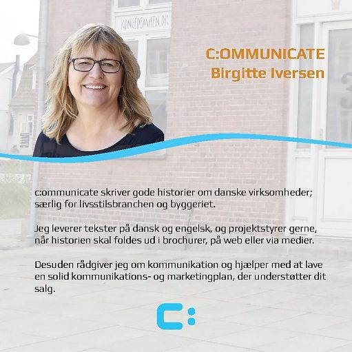 C:OMMUNICATE - Birgitte Iversen