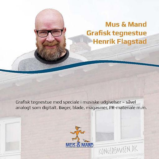 Mus & Mand - Grafisk Tegnstue - Henrik Flagsted