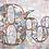 Thumbnail: 8600(9) - Originalværk - 100 x 120 cm, mixed media på lærred