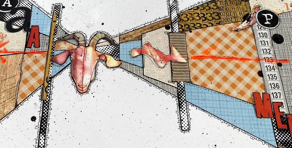 KURSUS - Collage/Stjernetegn
