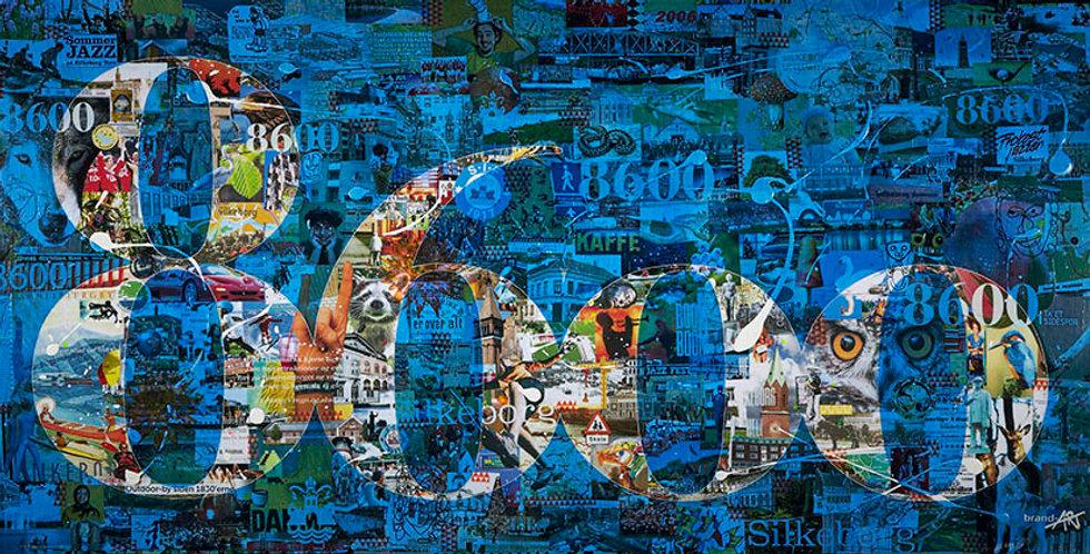 8600(7)-Street-art-festival -  Kunsttryk, flere størrelser